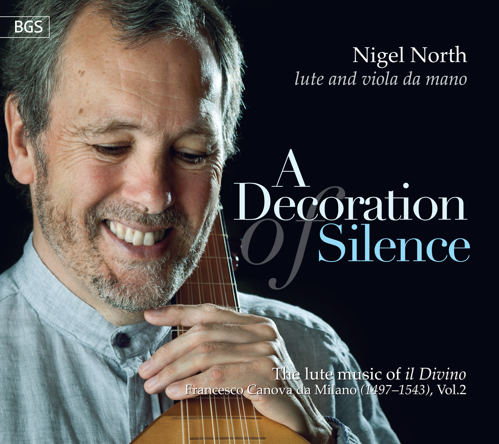 nigel-north a decoration of silience cover